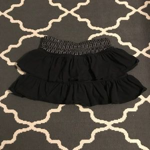Girl's Justice tiered ruffle skirt